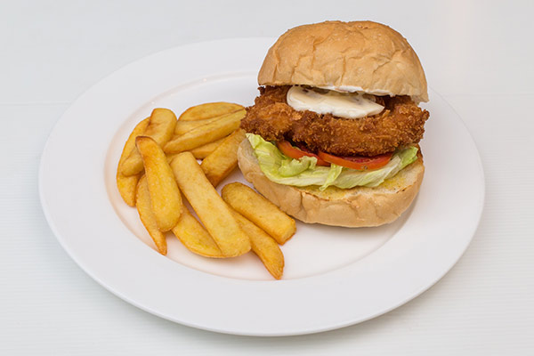 i-Rovers Sport Bar Chicken Burger