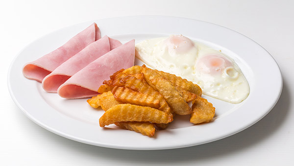 i-Rovers Sport Bar Egg Chips Ham