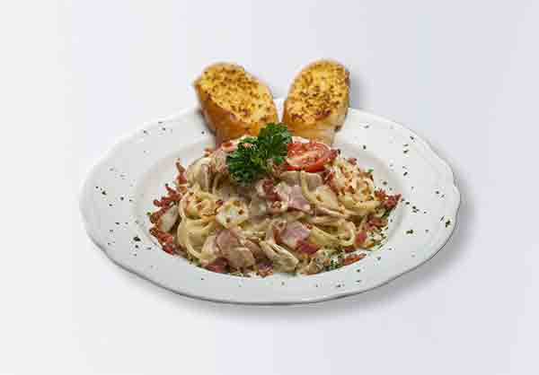 i-Rovers Sport Bar Spaghettie Carbonara